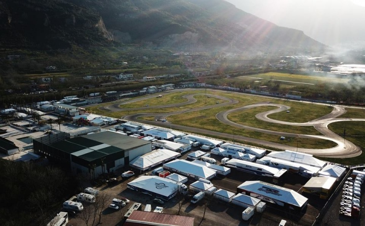 FIA Karting, Sarno - Weekend preview