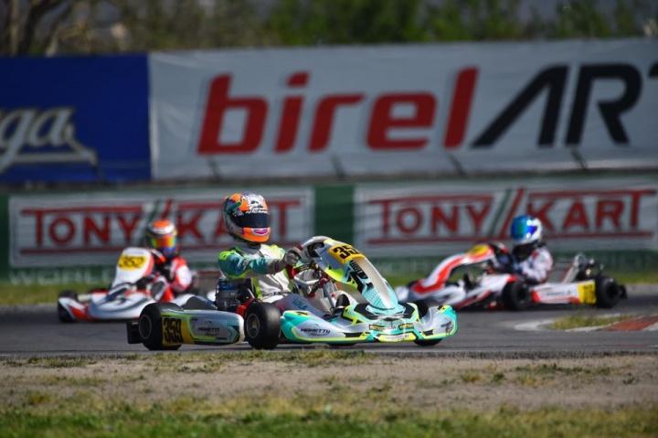 Manetti Motorsport at OKJ European Championship with Lola Lovinfosse
