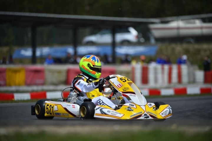 Charlie Wurz in Top Five of FIA Academy Trophy