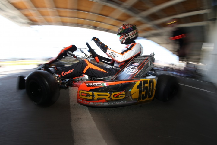 CRG to the fore at WSK with Bortoleto, Hiltbrand and De Conto