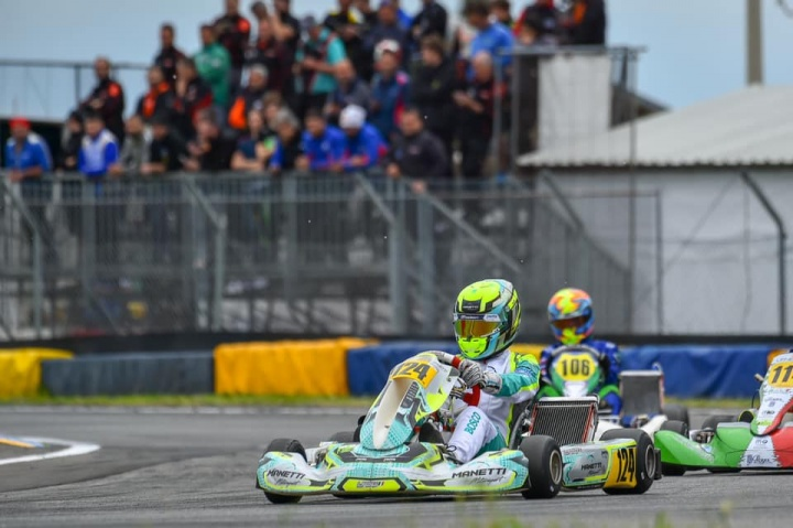 Manetti Motorsport engaged in the Italian ACI Karting Championship
