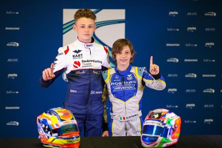 FIA Euro Kristianstad - Patterson (OK) and Antonelli (OKJ) in pole position
