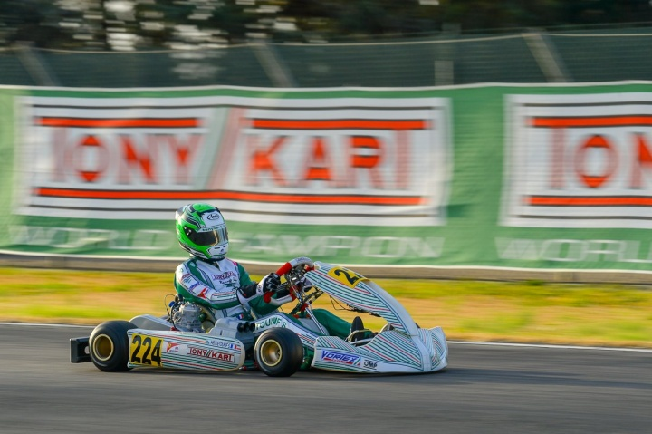 Tony Kart ready for the WSK Super Master Series last act