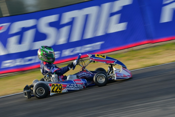 Kosmic Racing Department is in Sarno for the last round of WSK Super Master