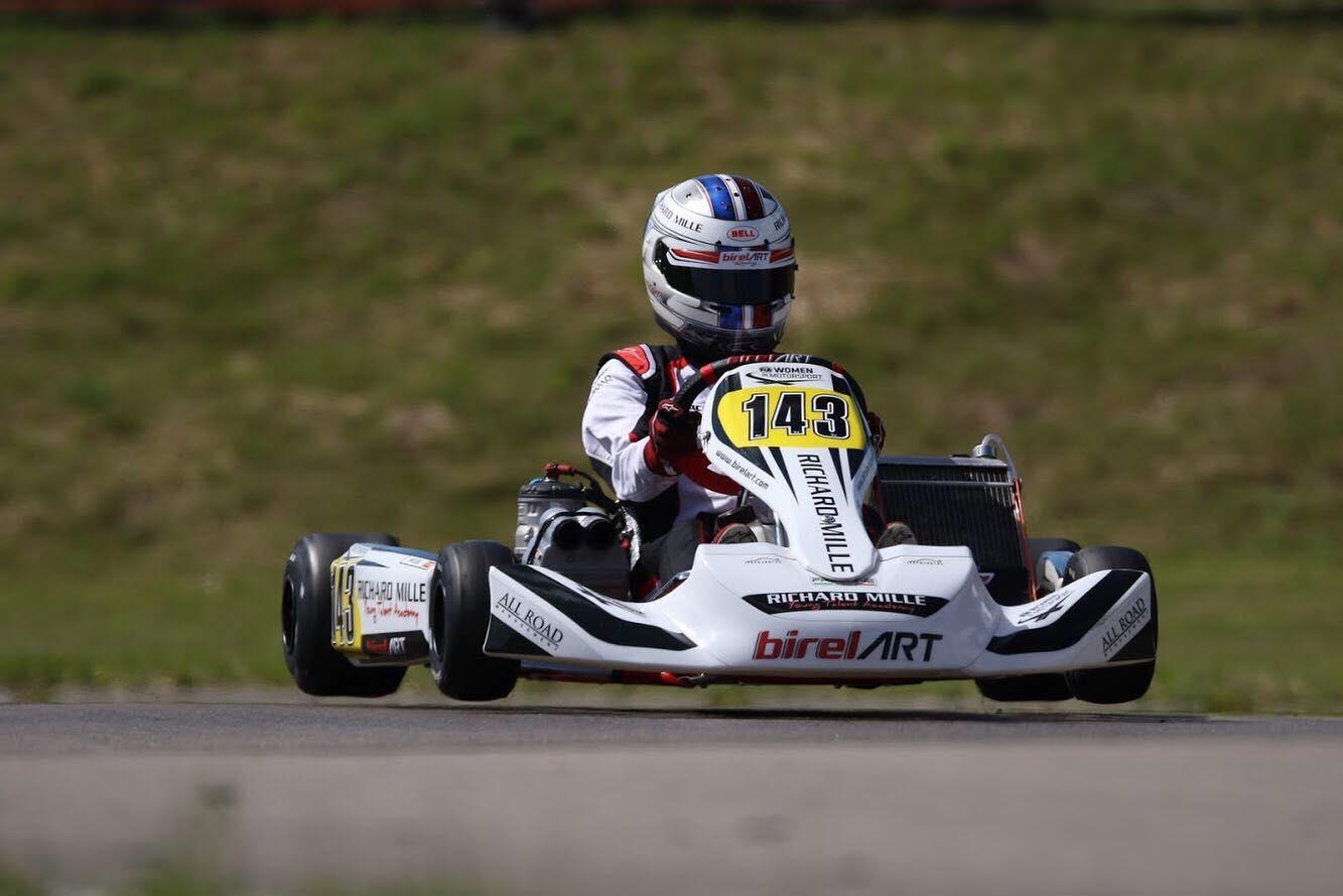 Le Mans unlucky for Maya Weug