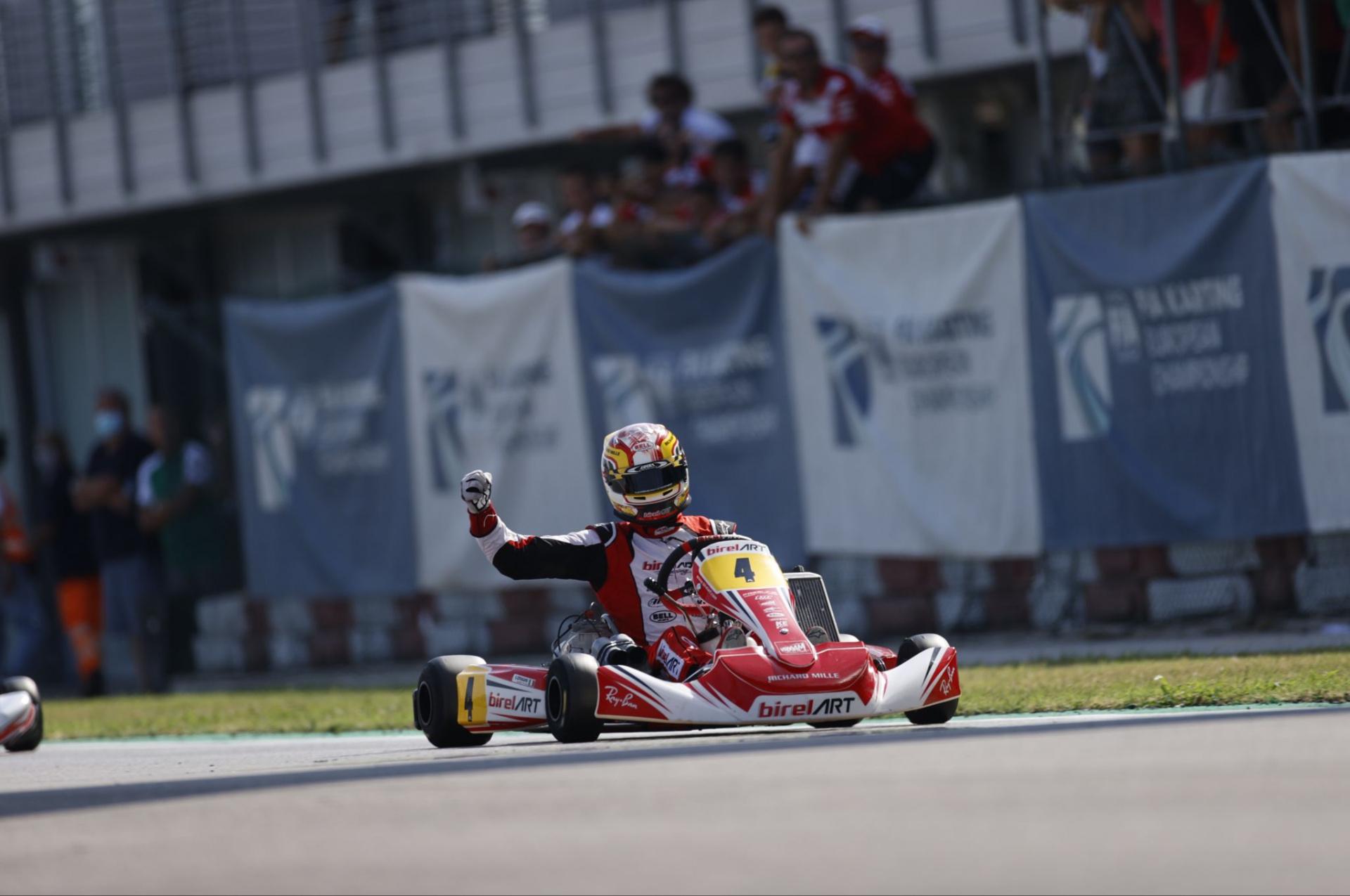 FIA Karting Euro, Adria - Pollini and Longhi European Champions