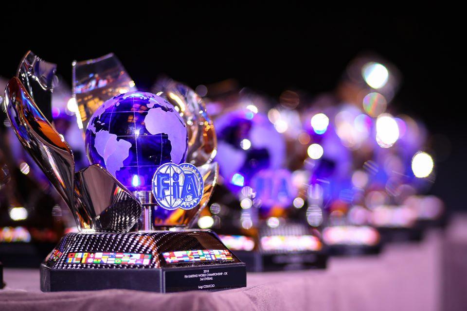 The Awards Ceremony closes the FIA Karting season
