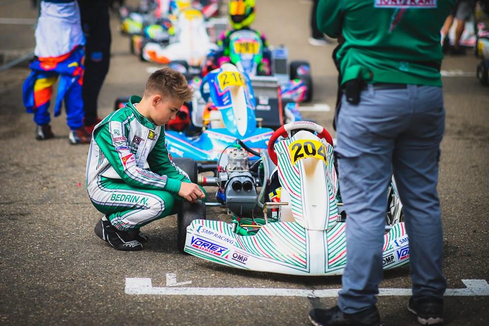 Nikita Bedrin, new Ward Racing driver