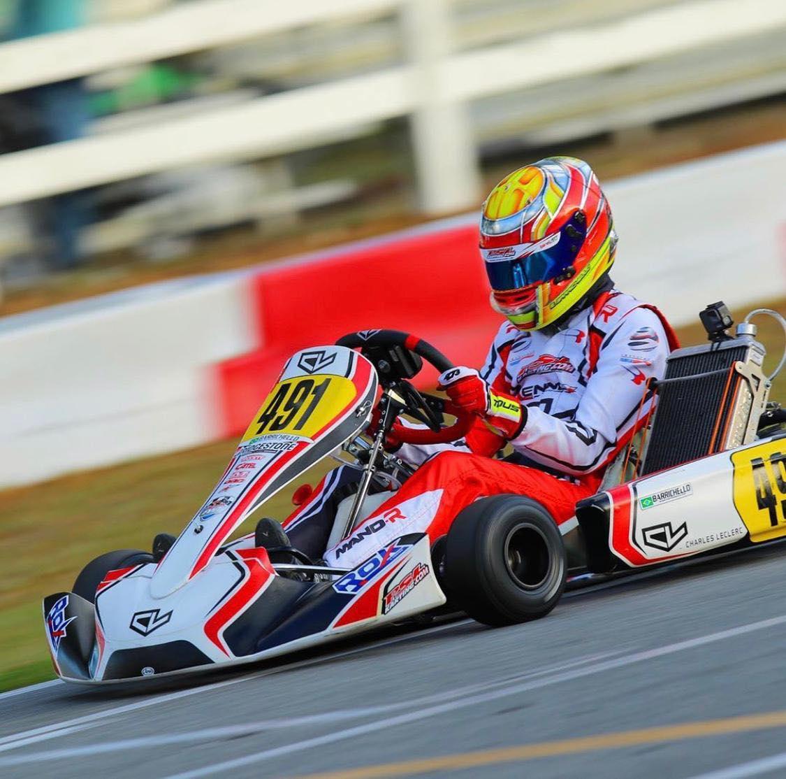 Eduardo Barrichello between KZ and single-seater!