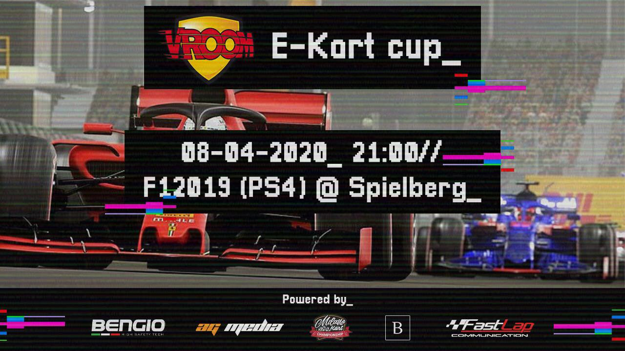 The Vroom e-Kart Cup is on its way!