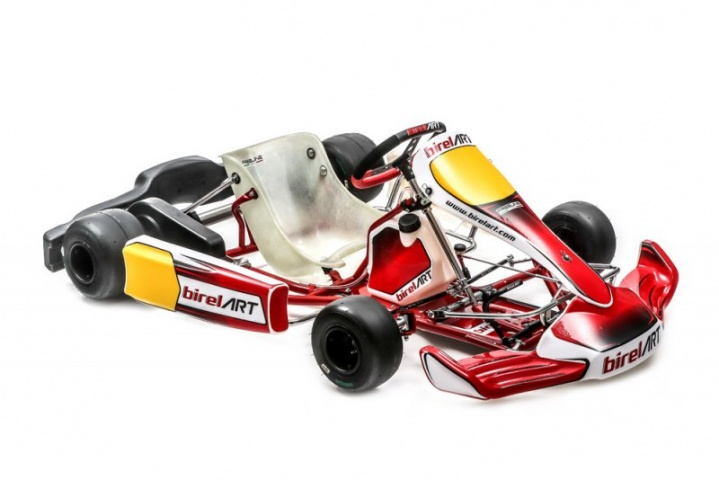 Share The new 2018 Birel ART Kart S9 series