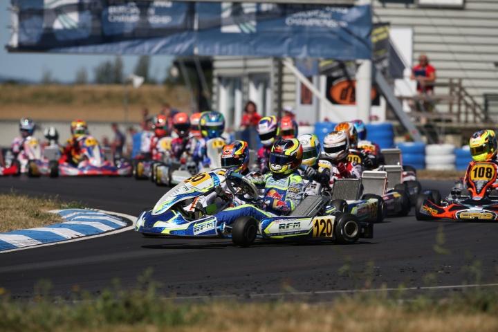 Online video report of the CIK FIA Euro in Essay