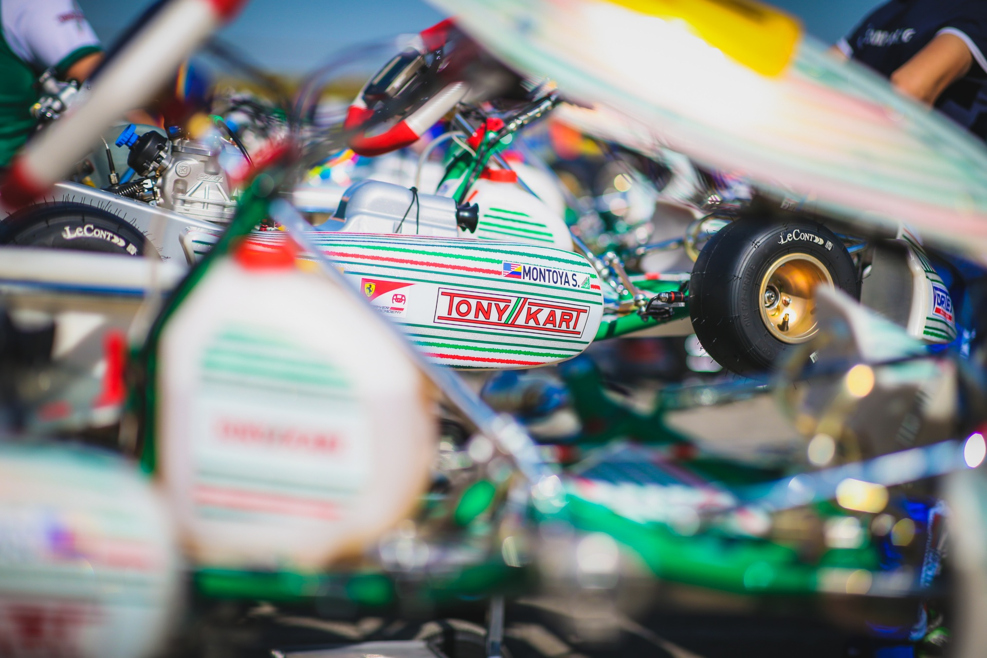 Breaking news: Travisanutto and Hiltbrand with Tony Kart Racing Team!