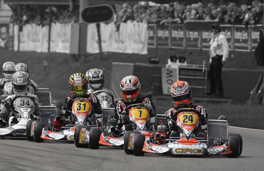 CRG heading to Varennes for the World Championship KZ