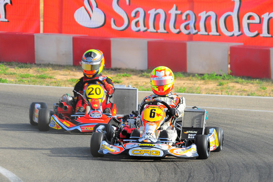 Another success for CRG, this time with Alex Palou Montalbo in the KZ2 Spanish Championship