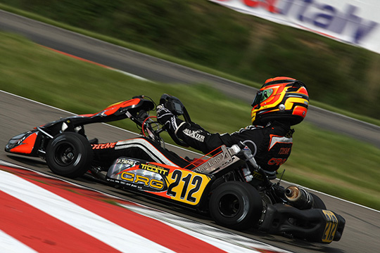 CRG HEADING TO SPAIN FOR ALCANIZ'S OPENER OF THE EUROPEAN CIK-FIA KF & KF JUNIOR CHAMPIONSHIPS
