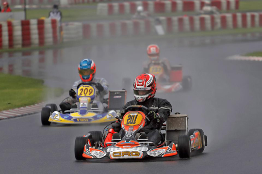 CRG WITH JORRIT PEX PULLS AWAY IN THE GERMAN CHAMPIONSHIP AFTER THE SECOND ROUND IN WACKERSDORF