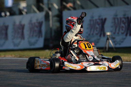 SPECTACULAR CRG AND JORRIT PEX  AT THE WSK CHAMPIONS CUP