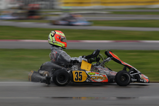 POSITIVE INDICATIONS FOR CRG IN THE FIRST RACE OF THE WSK SUPER MASTER