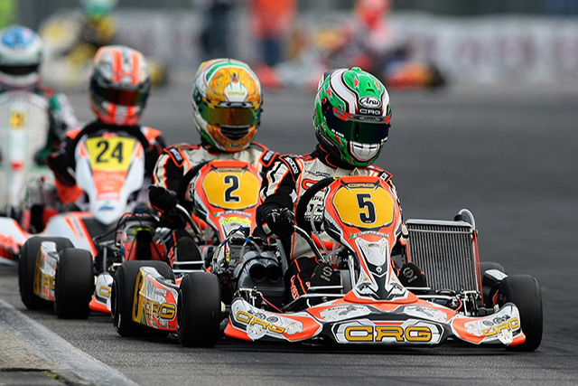 CRG HEADING TO ESSAY FOR THE KZ AND KZ2 EUROPEAN CHAMPIONSHIP OPENER