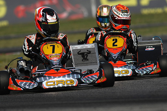 ALL READY FOR THE 'DEBUT' OF THE  KZ&KZ2 EUROPEAN CHAMPIONSHIP:  CRG PARTICIPATES WITH THE WHOLE OFFICIAL TEAM