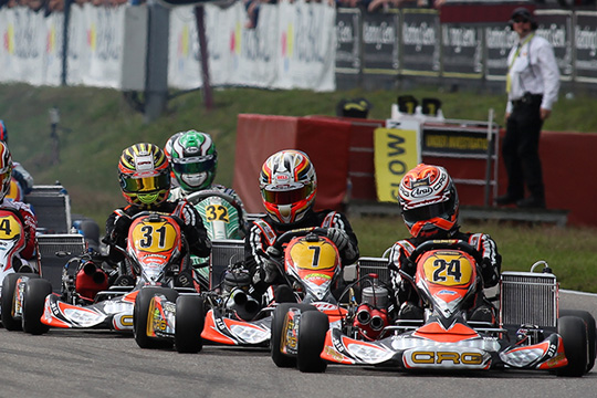 CRG IN CASTELLETTO HUNTING FOR THE THIRD TITLE OF THE SEASON WITH MAX VERSTAPPEN IN KZ2 IN WSK MASTER SERIES