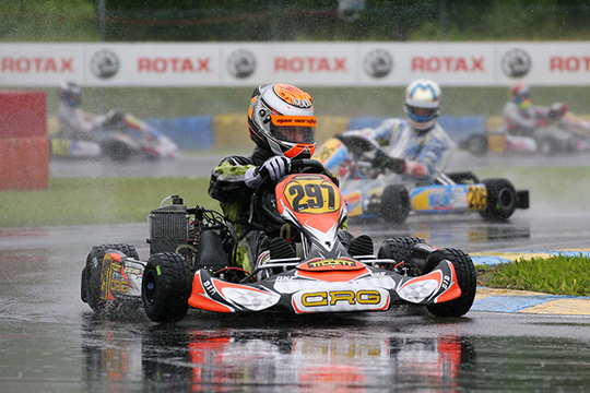 CRG ON THE PODIUM OF THE ROTAX MAX EURO CHALLENGE WITH VERSTAPPEN IN THE SENIOR. LENNOX IS AWESOME IN DD2.