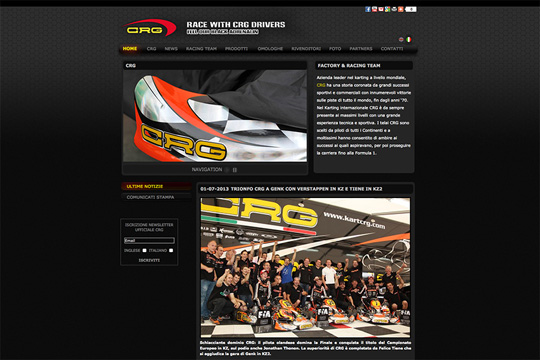 CRG'S NEW WEBSITE IS NOW ON LINE WWW.KARTCRG.COM