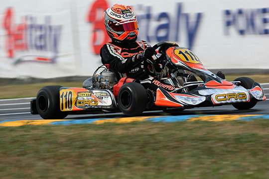 """""""Well done, Max!"""" Hat-trick for CRG and Max Verstappen thanks to the win in KZ2 in the WSK Master Series"""