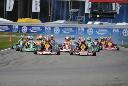 Lennox grabs the pole for KZ final