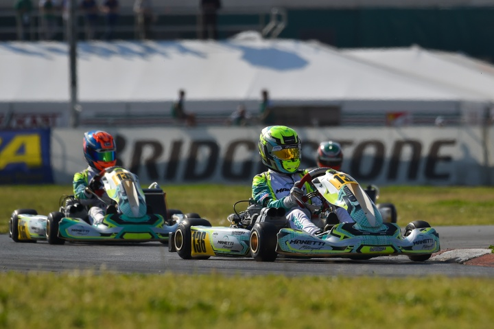 Manetti Motorsport completes a solid weekend in Sarno