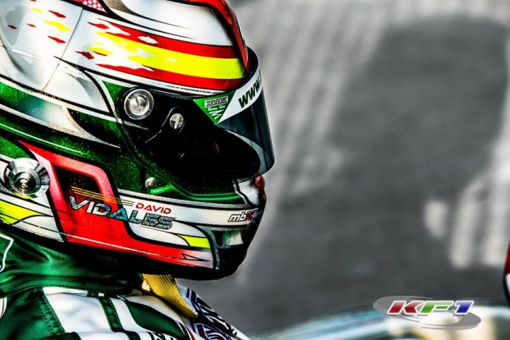 Talking to David Vidales, 2016 CIK-FIA OK Junior World Vice-Champion