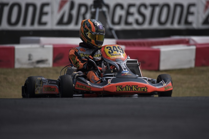 Kart Prix of Italy, KZ2 final - Denner wins race, Renaudin becomes the new European Champion