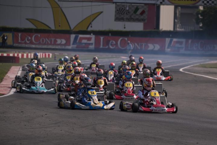 Kart Grand Prix of Italy - Heats