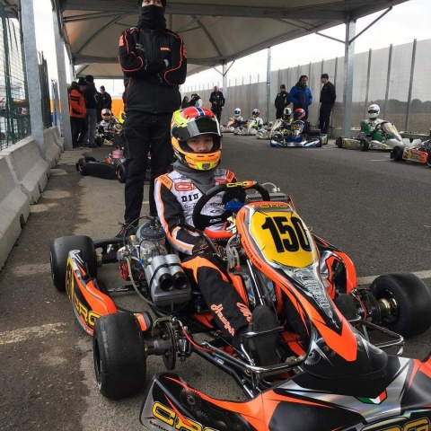 Hauger prepares his season in formula with CRG in Lonato