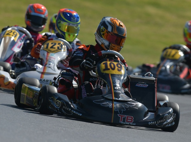 Kart Grand Prix GB – Travisanutto won, but has to be disqualified. Janker got over Vidales and Hiltbrand
