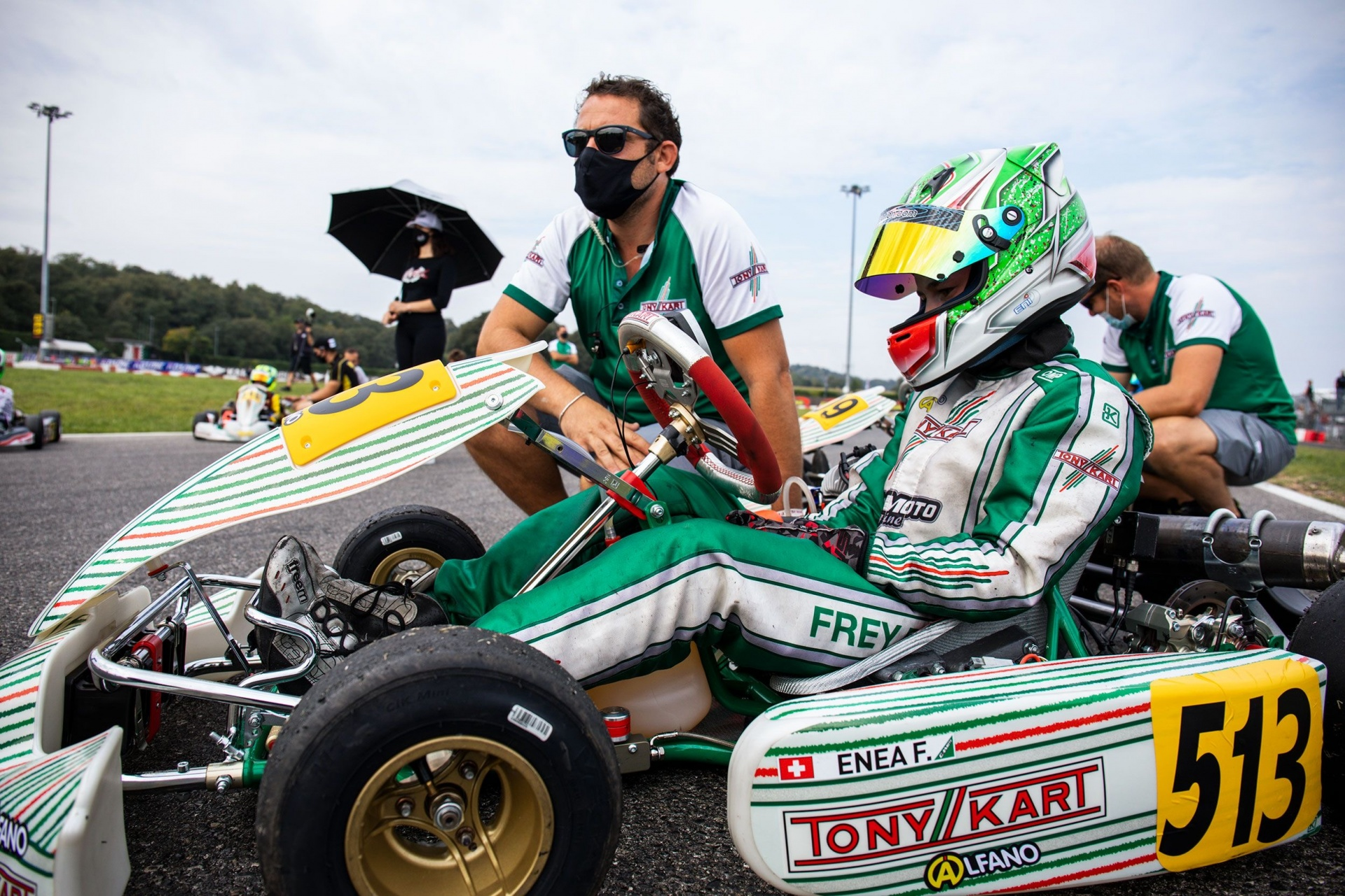 Difficult weekend for Gamoto Kart in Lonato