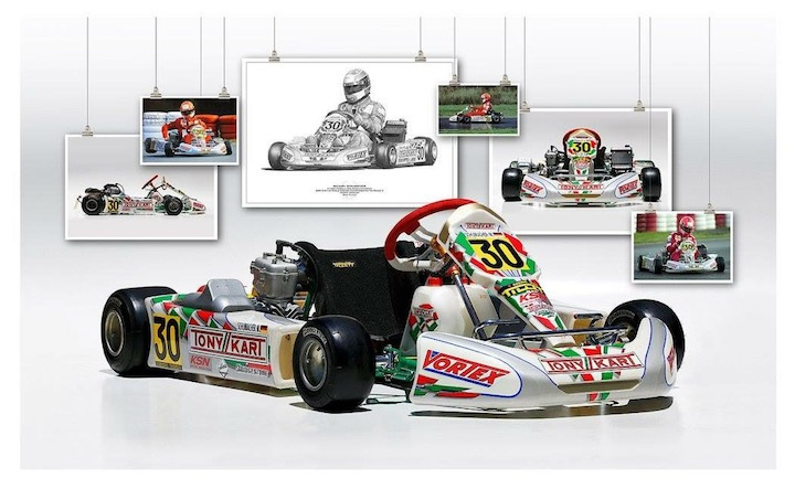 Michael Schumacher's Tony Kart
