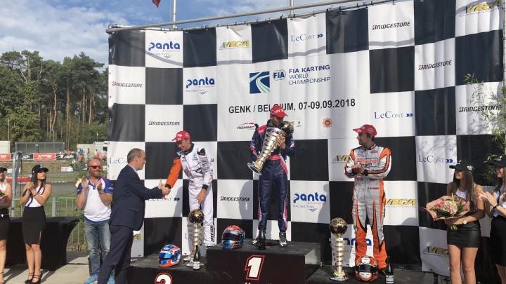 World Genk - Hajek triumphs in KZ, Viganò in KZ2