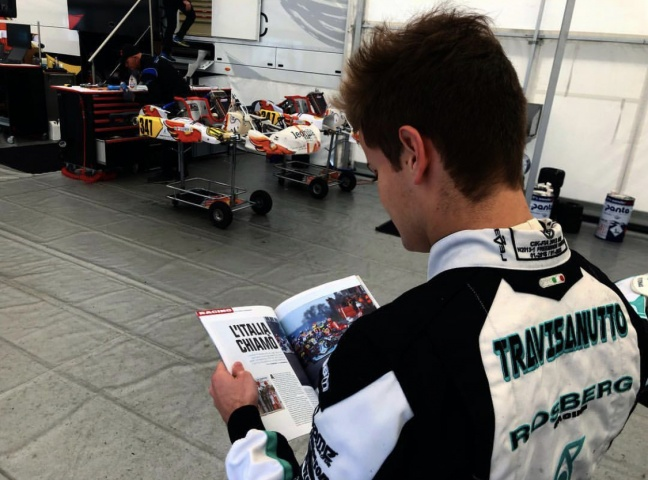 Travisanutto leaves Rosberg Racing to join HTP-Kart Team