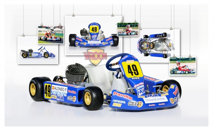 Legendary Karts - MW/Parilla, Fernando Alonso