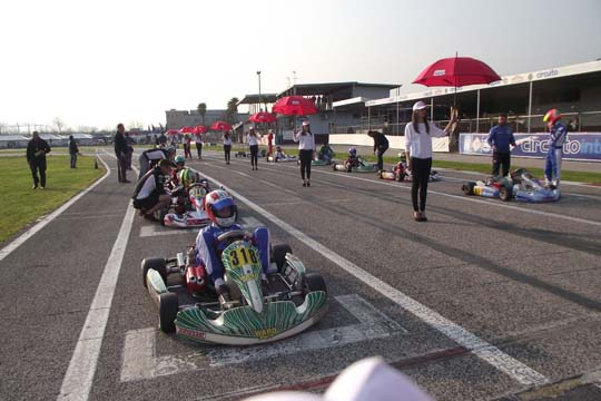 FIRST SEASONAL RACE AT CIRCUITO INTERNAZIONALE NAPOLI, SARNO'S TRACK (ITALY)