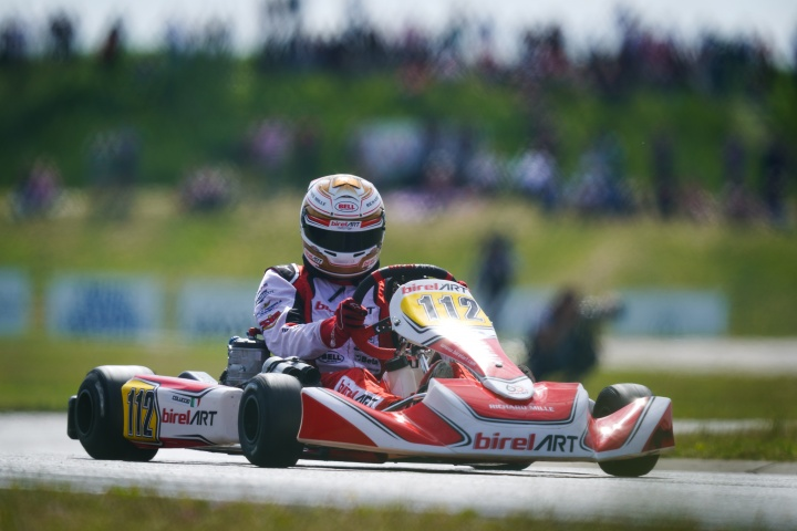 Coluccio back on the podium in Sweden