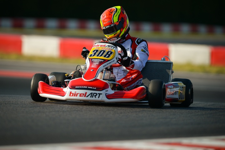 Two podiums to conclude the European Championship