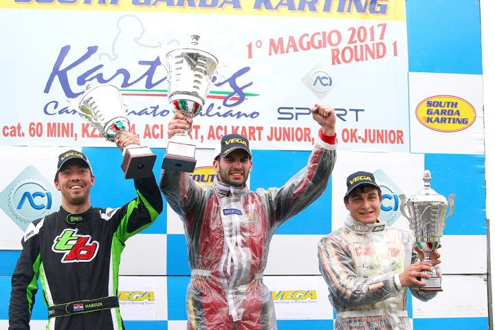 CLASSIFICATIONS OF THE ITALIAN ACI KARTING CHAMPIONSHIP AFTER LONATO