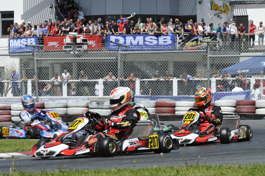The CIK-FIA European Championship for KZ and KZ2 ends in Genk