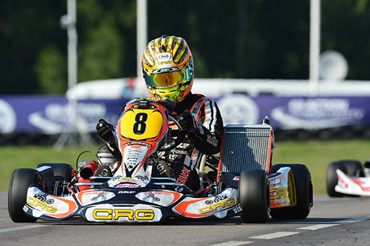 CRG ON TRACK IN SWEDEN: LENNOX VERY QUICK IN KZ AS TIENE IS SUPER IN KZ2