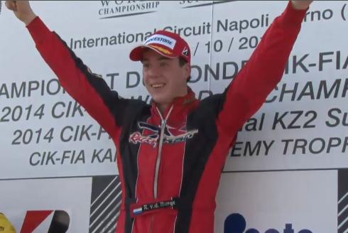 Van Der Burgt (DR/Tm) is the International KZ2 Super Cup winner