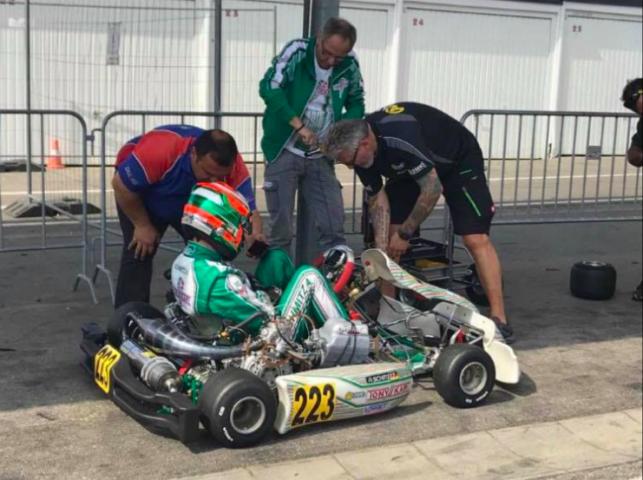 Schmitz with Renda Motorsport for the rest of 2018