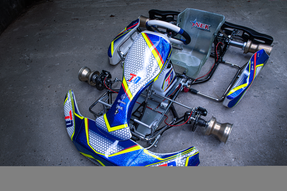 Thierry Delré presents TD Racing Kart